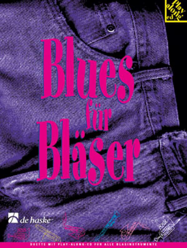 Blues für Bläser Band 4 (+CD): Duette für C-Instrumente (Baßschlüssel)
