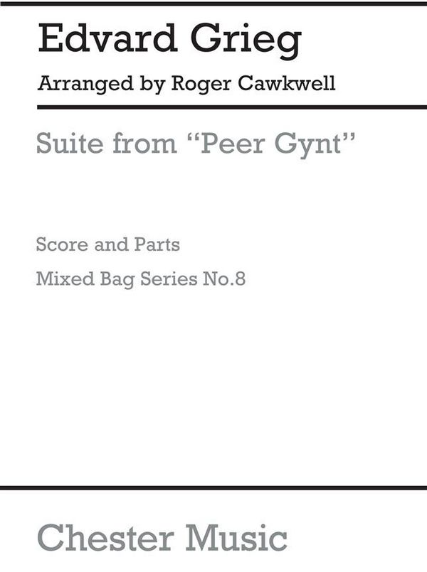 Suite from Peer Gynt: Woodwind ensemble for a mixed bag