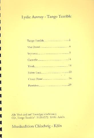Lydie Auvray: Tango terrible für Akkordeon