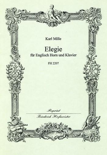 Elegie: für Englischhorn und Klavier