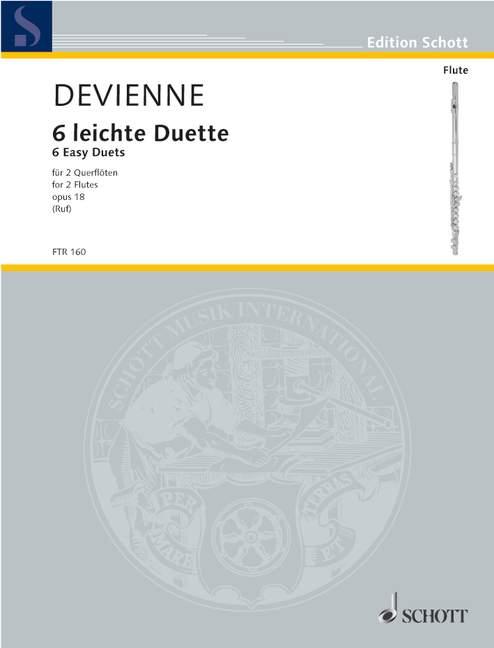 Devienne, Francois - 6 leichte Duette op.18 : für