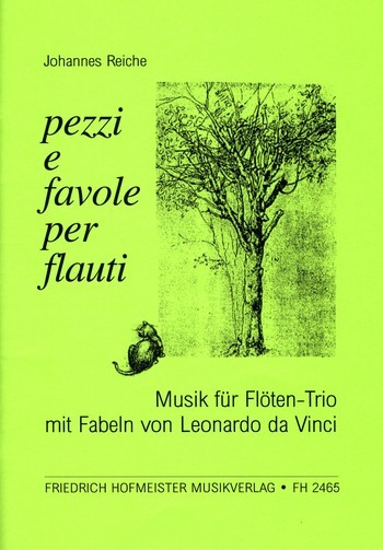 Reiche, Johannes - Pezzi e favole per flaute : für 3 Flöten