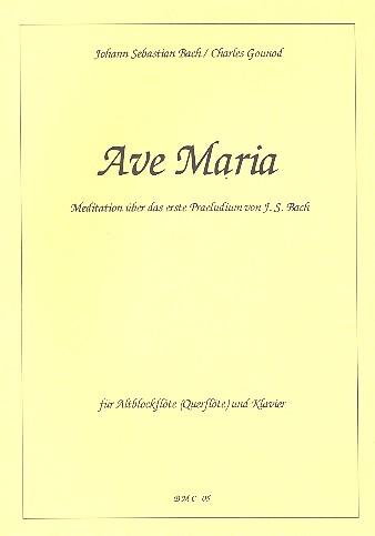 Ave Maria: Meditation über das Präludium Nr.1 von Bach: für