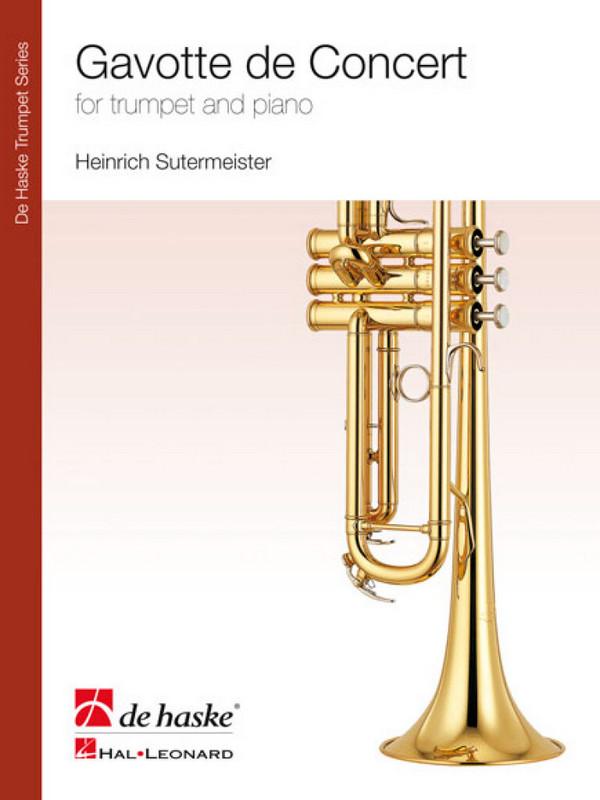 Sutermeister, Heinrich - Gavotte de concert : for trumpet