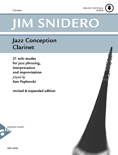 Jazz Conception for Clarinet (+CD): 21 solo etudes for jazz phrasing,