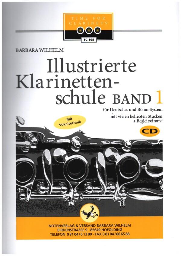 Illustrierte Klarinettenschule (+2 CD\