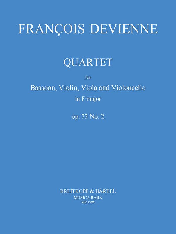 Devienne, Francois - Quartet F major op.73 no.2 :