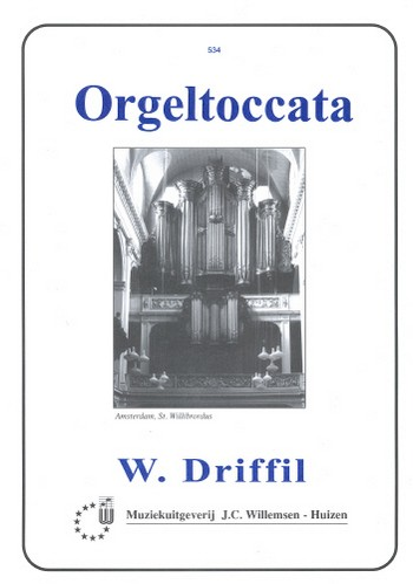 Driffill, W. Ralph - Toccata : für Orgel