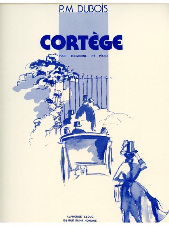 Dubois, Pierre Max - Cortège : pour trombone et piano