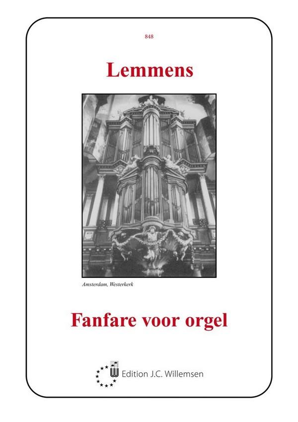 Lemmens, Jacques-Nicolas - Fanfare : für Orgel