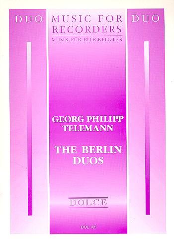Telemann, Georg Philipp - The Berlin Duos :
