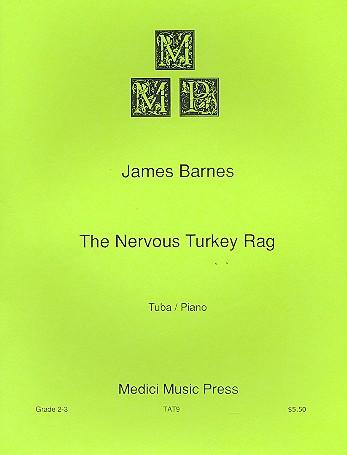 Barnes, James - The nervous Turkey Rag :