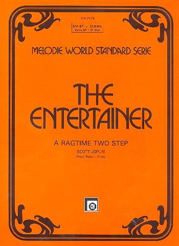 The Entertainer: Einzelausgabe für Klavier (Akkordeon) mit B-Stimme