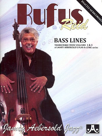 Bass Lines transcribed from the vols.1+3 from Jamey Aebersold\