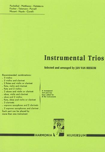 Abel, Karl Friedrich - Instrumental Trios : für