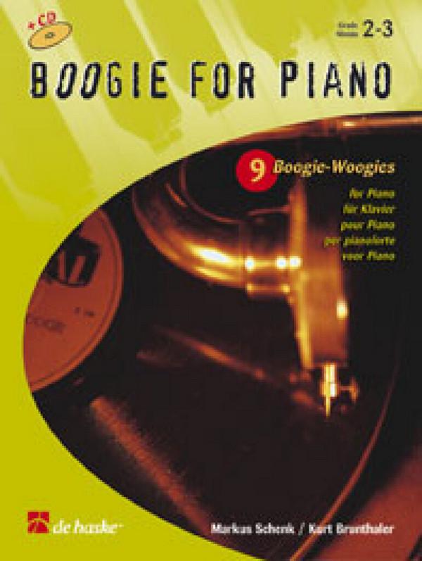 Boogie for Piano (+CD): 9 Boogie-Woogies für Klavier
