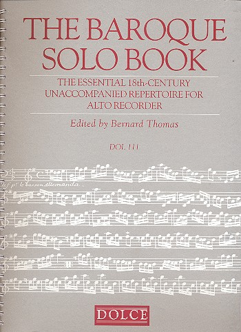 - The Baroque Solo Book : The Essential