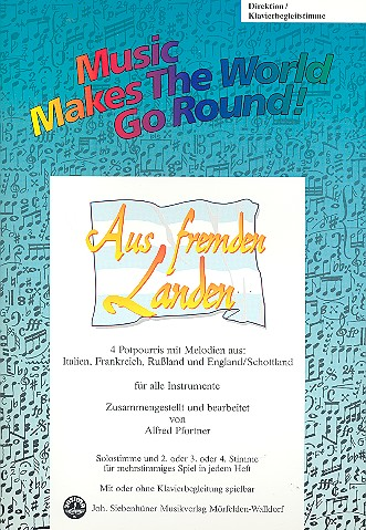 Aus fremden Landen: für flexibles Ensemble Direktion/Klavierbegleitstimme