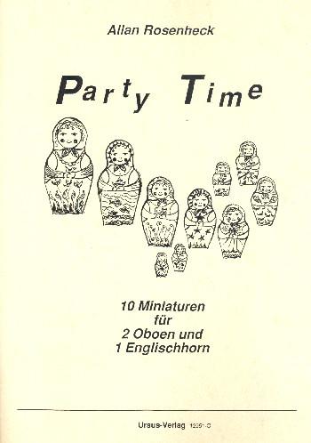 Rosenheck, Allan - Party Time : 10 Miniaturen für