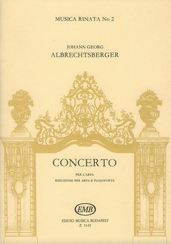 Konzert für Harfe, 2 Hörner und Streicher: Harfe und Klavier