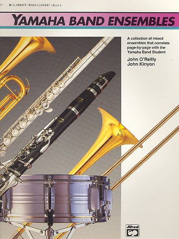 Yamaha Band Ensembles vol.3: bb clarinet (bass clarinet)