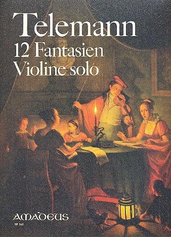 12 Fantasien: für Violine solo