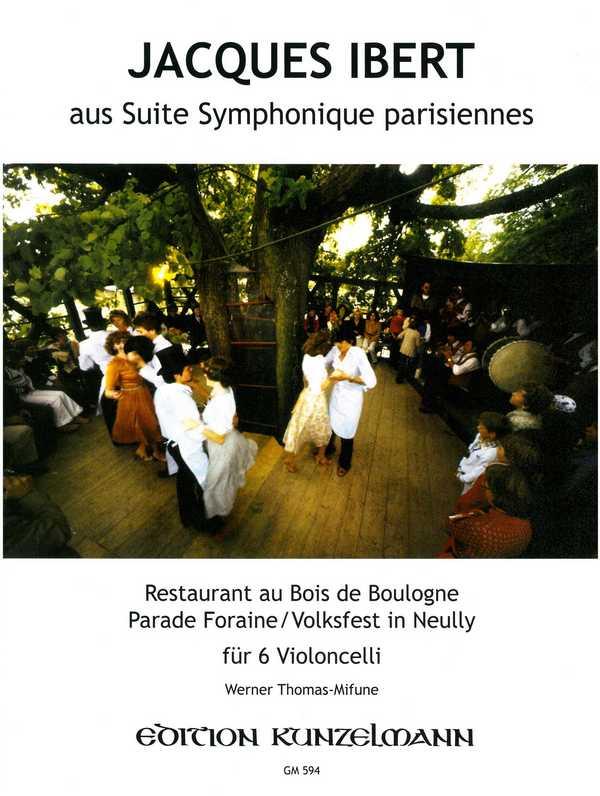 2 Stücke aus der Orchestersuite Paris: für 6 Violoncelli