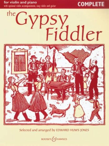 - The Gypsy Fiddler : for violin and piano