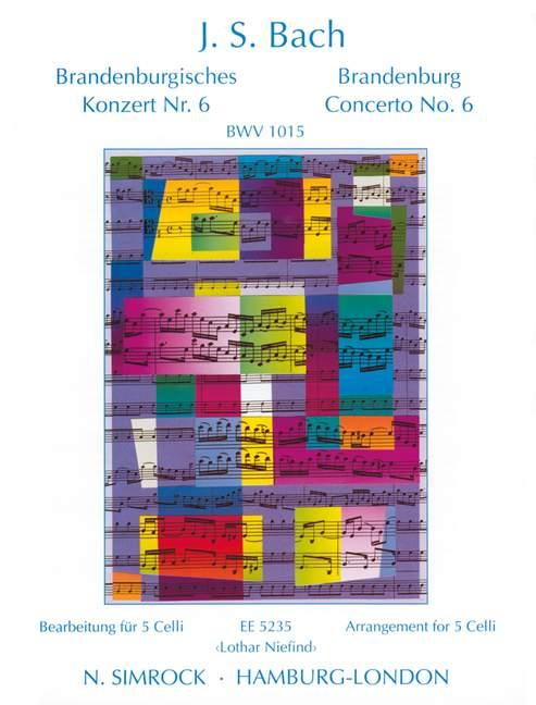 Bach, Johann Sebastian - Brandenburgisches Konzert Nr.6
