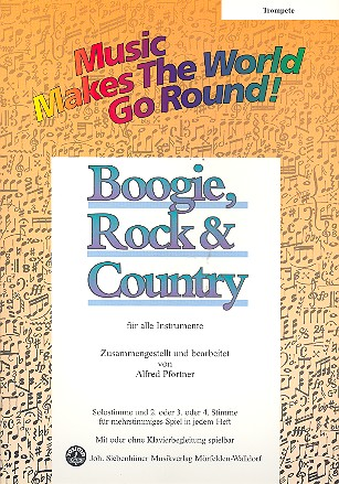 Boogie Rock and Country: für flexibles Ensemble