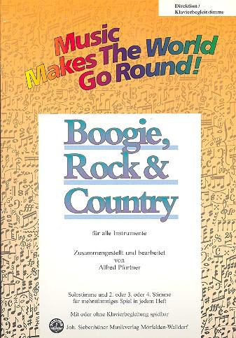 Boogie Rock and Country: für flexibles Ensemble