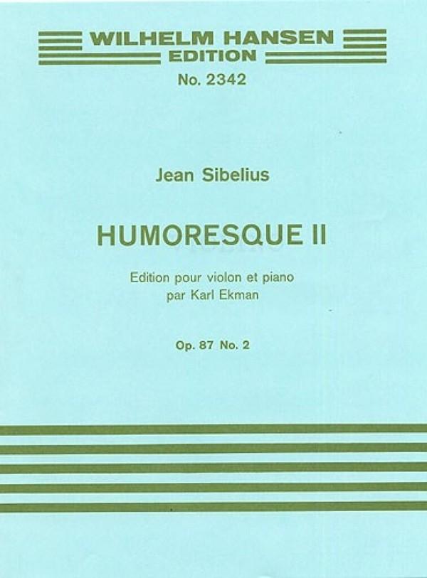 Sibelius, Jean - Humoreske Nr.2 op.87,2 : für