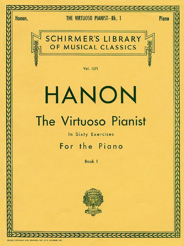 Hanon, Charles Louis - The virtuoso pianist vol.1 :
