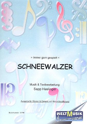 Schneewalzer: für Klavier oder Akkordeon