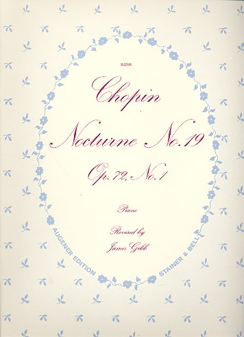 Chopin, Frédéric - Nocturne op.72,1 : for piano
