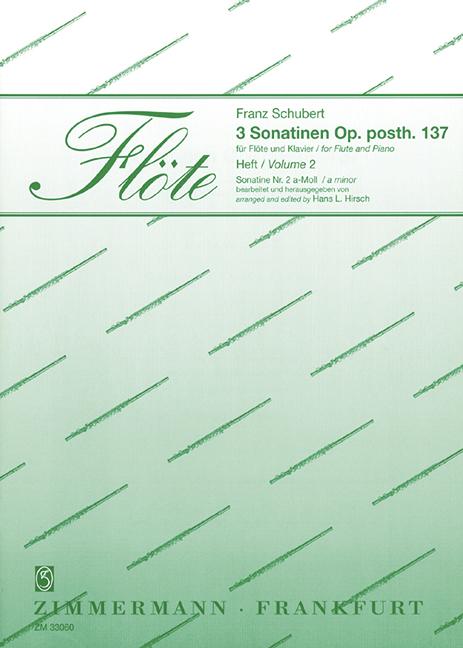 Schubert, Franz - Sonatine a-Moll D385 oppost.137,2 :