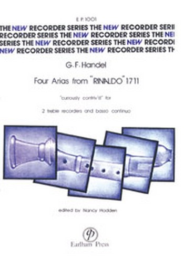 4 Arias from Rinaldo 1711: Curiously contriv\