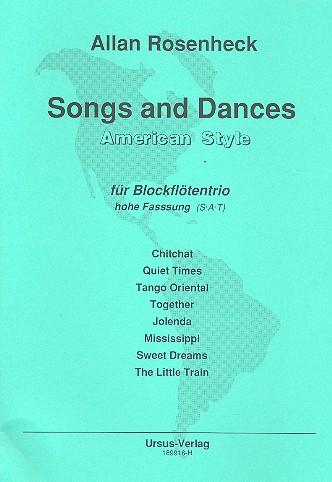 Rosenheck, Allan - Songs and Dances : für