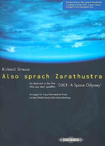 Also sprach Zarathustra wie aus dem Spielfilm`2001: A Space Odyssey´: