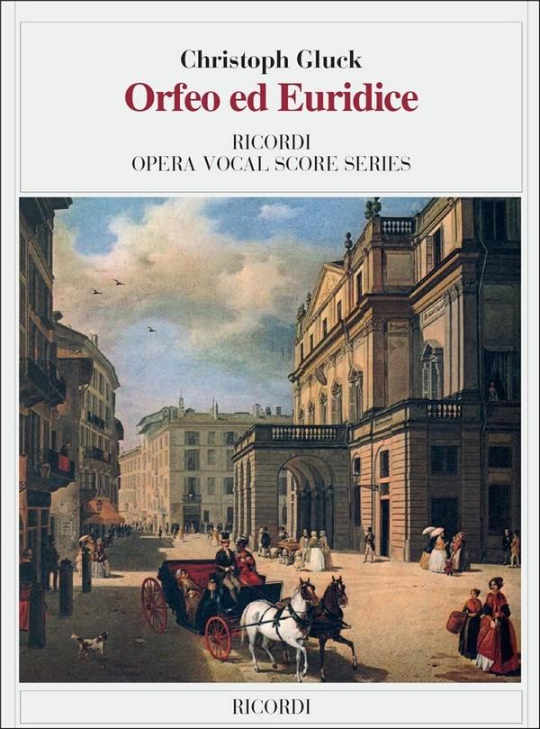 Gluck, Christoph Willibald - Orfeo ed Euridice : Klavierauszug