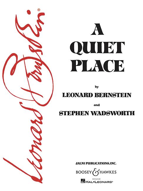 A quiet Place (1983): opera Vocal Score (en)