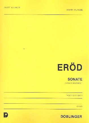 Eröd, Ivan - Sonata milanese : für Fagott und Klavier
