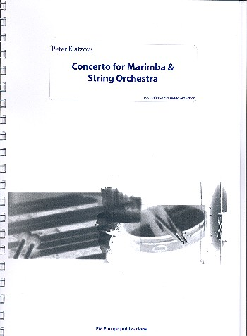 Concerto for marimba and string orchestra: for marimba and piano