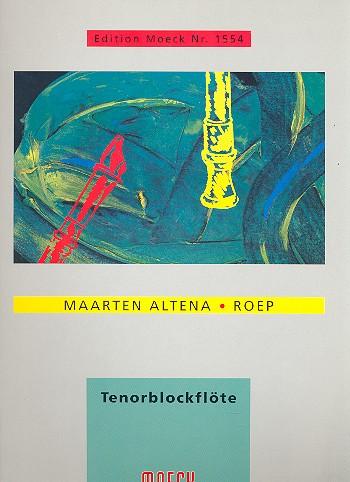 Roep: für Tenorblockflöte solo
