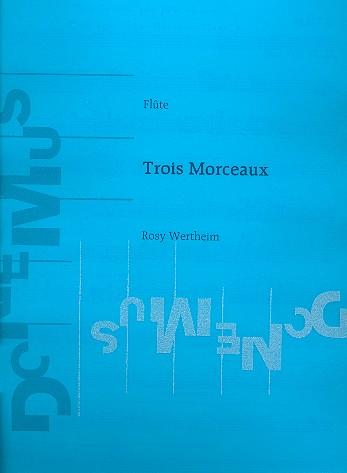 3 morceaux: pour flûte et piano (1939)