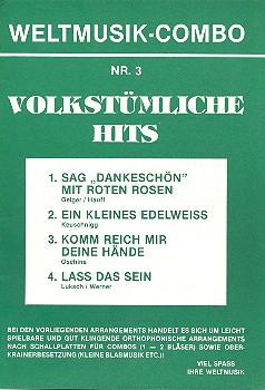 Weltmusik-Combo Nr.3: Volkstümliche Hits, 4 Stimmen
