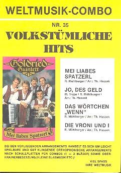 Weltmusik-Combo Nr.35: Volkstümliche Hits, 4 Stimmen