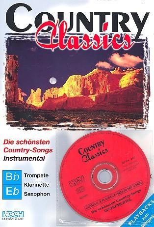 Country Classics (+CD): für C-, B- und Es-Instrumente