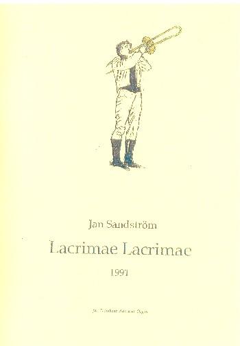 Lacrimae lacrimae: for trombone alto and organ (1991)