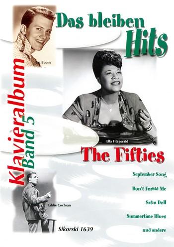 Das bleiben Hits Band 5: The Fifties für Gesang und Klavier